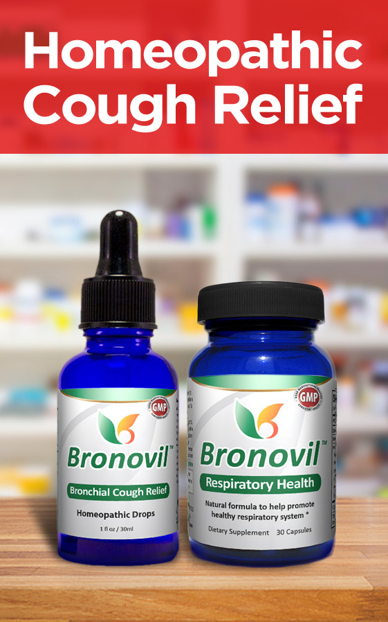 Bronovil - Homeopathic Relief for Upper Respiratory Infection