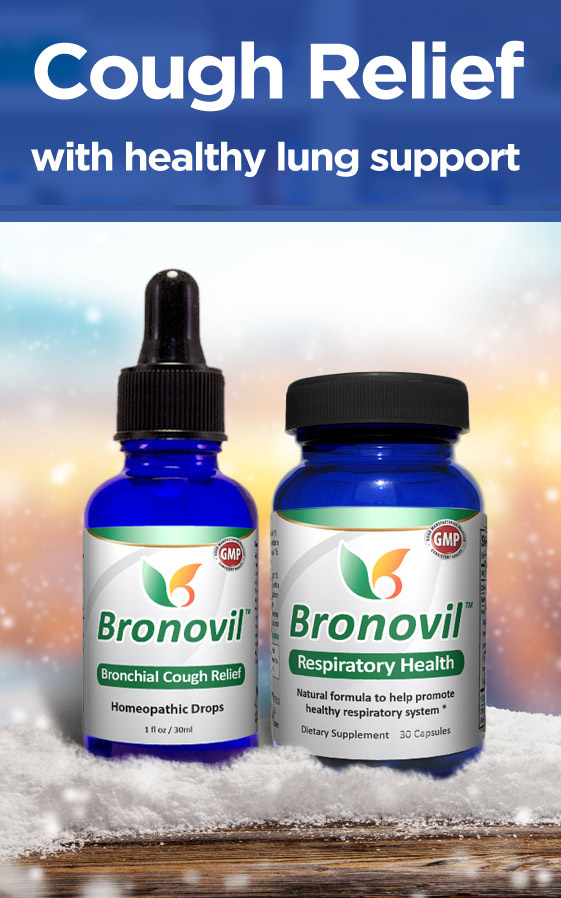 Bronovil: All-Natural Relief for Cough