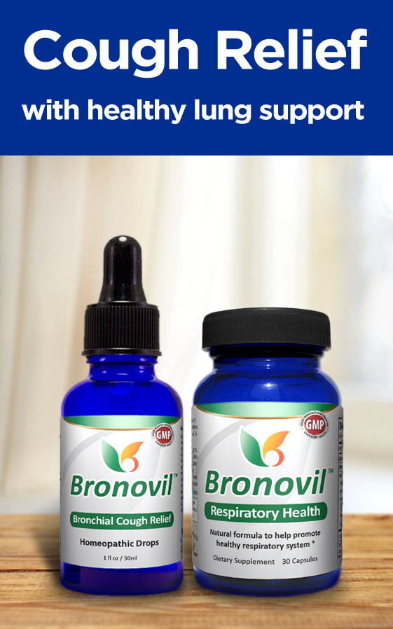 Bronovil - Natural Relief for Cough