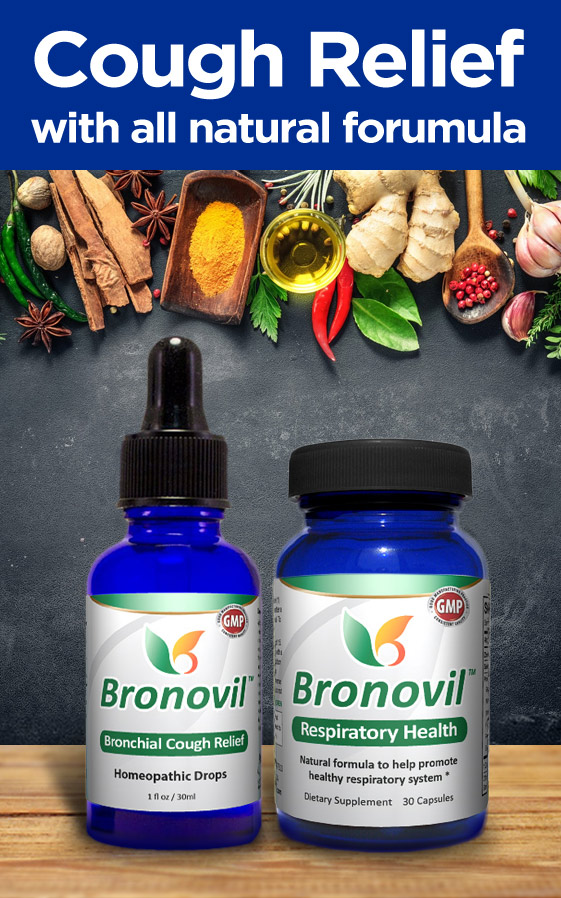 Bronovil - All-Natural Treatment for Cough