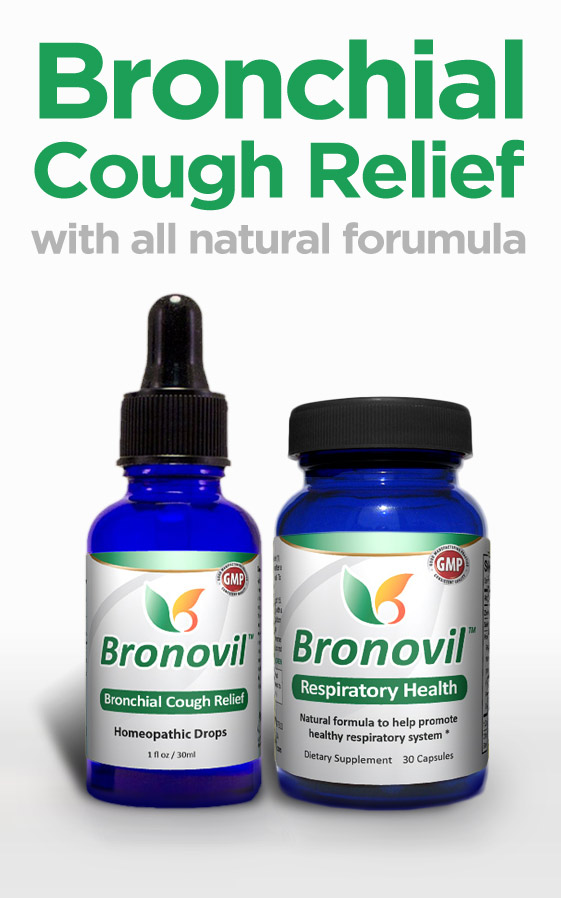 Natural Bronchitis Treatment - Bronovil