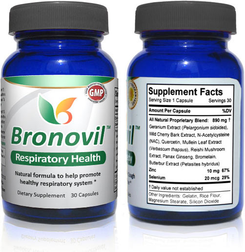 Bronovil - Bronchitis Relief